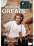Play Along Drums Audio CD: Session Great (booklet/CD)