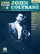 John Coltrane: Saxophone Play-Along Volume 10 (book/Audio Online)