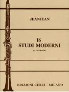 16 Studi moderni per clarinetto
