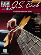 J.S. Bach: Guitar Play-Along Volume 151 (book/Audio Online)
