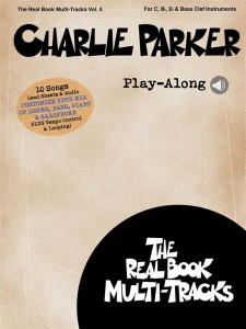 Charlie Parker Play-Along (book/Softcover Media Online )