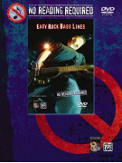 No Reading Required: Easy Rock Bass Lines (book/DVD)