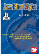 Jazz Blues Styles (book/CD play-along)