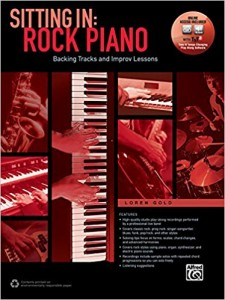 Sitting In: Rock Piano (book/Online Audio & Software)