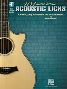 101 Must - Know Acoustic Licks (book/Audio Online)