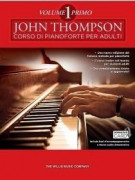 John Thompson's Corso di Pianoforte per adulti 1 (libro/Download Card)