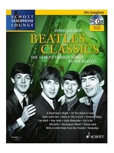 Beatles Classics For Alto Saxophone (book/CD Play-Along)