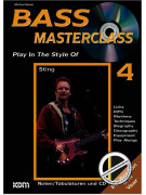 Bass Masterclass: Play in the Style of Sting (book/CD play-along)