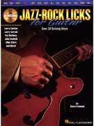 Jazz-Rock Licks for Guitar (book/CD)
