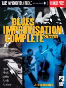 Blues Improvisation Complete - C Treble Instruments (book/CD)