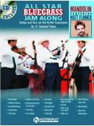 All Star Bluegrass Jam Along for Mandolin (book/CD)