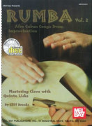 Rumba 2: Afro Cuban Conga Drum Improvisation  (book/2 CD)