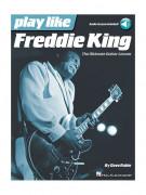 Play Like Freddie King (book/Audio Online)