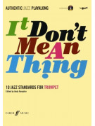 It Don't Mean A Thing for Trumpet (book/CD play-along)
