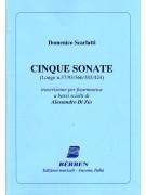 Domenico Scarlatti - Cinque Sonate (fisarmonica)