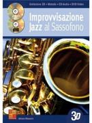 Improvvisazione Jazz Al Sassofono In 3D (libro/CD/DVD)