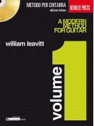A Modern Method  for Guitar Vol.1 Italiano (book/CD)