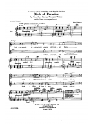 Birds of Paradise (Choral S.A.)