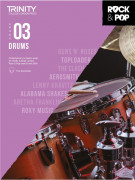 Rock & Pop Exams: Drums Grade 3 from 2018 (book/download)