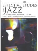 Effective Etudes For Jazz - Eb Alto Saxophone (book/CD)