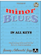 Aebersold Volume 57: Minor Blues in All Keys (book/CD)