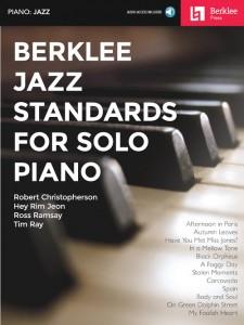 Berklee Jazz Standards for Solo Piano (book/Audio Onine)