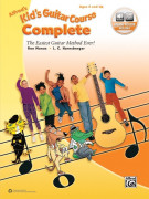 Alfred's Kid's Electric Guitar Course Complete (book/Online Audio)