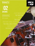 Rock & Pop Exams: Drums Grade 2 from 2018 (book/download)