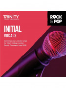 Trinity Rock & Pop 2018 Vocals Initial (CD Only)
