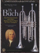 Johann Sebastian Bach: Two-Part Inventions for Two Trumpets (book/2 CD)