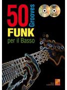 50 grooves funk per il basso (libro/CD/DVD)