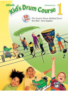 Alfred's Kid's Drum Course 1 (book/CD)