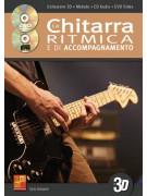 La chitarra ritmica e di accompagnamento in 3D (libro/CD/DVD)
