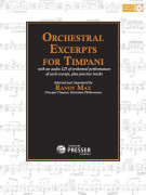 Orchestral Excerpts for Timpani (book/CD)