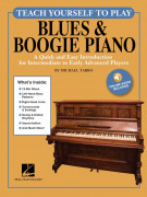 Teach Yourself to Play Blues & Boogie Piano (book/Audio Online)