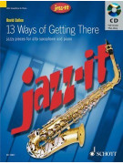 13 Ways of Getting There for Alto Sax (book/CD)