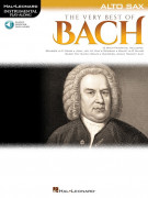 The Very Best of Bach for Alto Sax (book/Audio Online)
