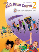Alfred's Kid's Drum Course 2 (book/CD)