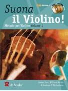 Suona il violino Volume 1 (libro/2 CD)