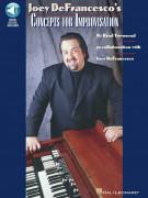 Concepts for Improvisation - Organ (book/Audio Online)