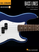 Hal Leonard Bass Method: Bass Lines (book/Audio Online)