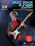 Jazz, Rock & Funk Guitar (book/Audio Online)