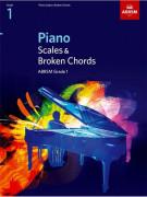 ABRSM: Piano Scales, Arpeggios & Broken Chords from 2009 (Grade 2)