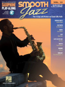Smooth Jazz: Saxophone Play-Along Volume 12 (book/Audio Online)