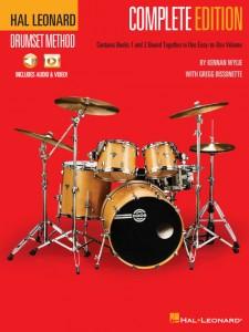 Hal Leonard Drumset Method – Complete Edition (book/Video & Audio Onine)