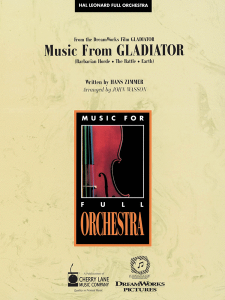 Music from Gladiator (Full Orchestra)