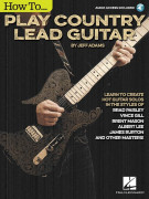 How to Play Country Lead Guitar (book/Audio Online)