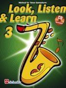 Look, Listen & Learn Tenor Sax 3 (book/CD)