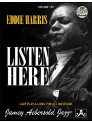 Eddie Harris Listen Here (book/CD play-along)