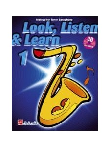 Look, Listen & Learn Tenor Sax 1 (book/CD)
